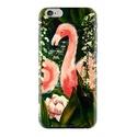 Flamingó telefontok, Képzőművészet, Mindenmás, Flamingók a mobilon  Igazi vidám trópusi hangulat, ezek a flamingók nagyon szerelmesek.  Minőségi te..., Meska