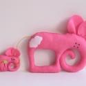 Együtt mókásabb!- Elefántok, Gyerek & játék, Otthon & lakás, Játék, Lakberendezés, Játékfigura, Filc anyagból készültek, ezek a saját tervezésű, kézzel készített bájos elefántok. Mókás játék kicsi..., Meska
