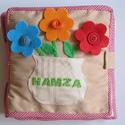 Az én okoskönyvem 3.- készségfejlesztő, kreatív gyakorlókönyv (hasonló rendelhető), Baba-mama-gyerek, Játék, Logikai játék, Készségfejlesztő játék, Mindenmás, Saját, egyedi tervezésű minta alapján készült textilkönyvecske, mely fejleszti a gyerekek kézügyess..., Meska
