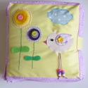 Madárkás okoskönyv- készségfejlesztő, kreatív gyakorlókönyv (RENDELHETŐ!), Baba-mama-gyerek, Játék, Logikai játék, Készségfejlesztő játék, Mindenmás, Saját, egyedi tervezésű minta alapján készült játék, mely fejleszti a gyerekek kézügyességét, gondo..., Meska