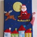 Az ezüsthajú angyalka - karácsonyi ujjbáb készlet és mini bábszínház (azonnal vihető!) , Baba-mama-gyerek, Játék, Készségfejlesztő játék, Báb, Mindenmás, Baba-és bábkészítés, Saját tervezésű, egyedi ujjbábkészlet  Az ezüsthajú angyalka c. meséhez. A bábok (ezüsthajú angyalk..., Meska