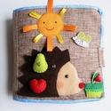 Sünis okoskönyv- készségfejlesztő, kreatív gyakorlókönyv (hasonló rendelhető!), Baba-mama-gyerek, Játék, Logikai játék, Készségfejlesztő játék, Mindenmás, Saját, egyedi tervezésű minta alapján készült játék, mely fejleszti a gyerekek kézügyességét, gondo..., Meska