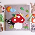 A gomba alatt interaktív ujjbáb készlet  (Rendelhető!), Baba-mama-gyerek, Játék, Készségfejlesztő játék, Báb, Saját tervezésű ujjbábkészlet egy bájos történethez, a Gomba alatt c. meséhez.  A bábok (hangya, egé..., Meska
