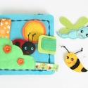 Mesél a tópart - matatókönyv kicsiknek (Azonnal vihető!!!), Gyerek & játék, Játék, Készségfejlesztő játék, Saját, egyedi tervezésű minta alapján, különös odafigyeléssel és gonddal készült textil könyvecske a..., Meska