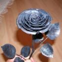 Kovácsoltvas rózsa, Otthon & lakás, Dekoráció, Dísz, Ünnepi dekoráció, Lakberendezés, Egyedi, rendkívül dekoratív kovácsoltvas  rózsa. Igényes aprólékos munkával, hagyományos tűzi kézi k..., Meska