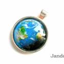 Földgömb- medál, Földgömb medál formában. Természetvédőknek ...