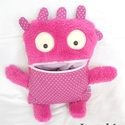 Gondevő -pink pöttyös, Pihe-puha gondevő, lányos verzióban. Kedves és...