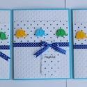 Meghívó keresztelőre - 5 képeslap egy csomagban, Baba-mama-gyerek, Naptár, képeslap, album, Ajándékkísérő, Ezt a csomagot azoknak a szülőknek készítettem, akik gyermekük keresztelésére készülnek, és több csa..., Meska