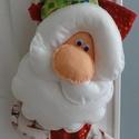 Egyedi, kézműves karácsonyi zokni ajándéknak, Baba-mama-gyerek, Naptár, képeslap, album, Dekoráció, Ünnepi dekoráció, Ebben a nagyon egyedi és különleges karácsonyi zokniban elrejtheted az ajándékodat a karácsonyfa ala..., Meska