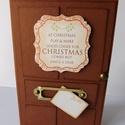 """"""" Karácsonyi levél"""" - egyedi, kézműves karácsonyi képeslap, Naptár, képeslap, album, Karácsonyi, adventi apróságok, Képeslap, levélpapír, Ajándékkísérő, képeslap, Egyedi, különleges, kézműves képeslapot  készítettem karácsonyra azoknak, akik szeretik a nem minden..., Meska"""