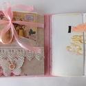 """"""" My lady"""" - egyedi, kézműves shabby esküvői scrapbook album, Esküvő, Naptár, képeslap, album, Nászajándék, Gyönyörű esküvői fotóalbum, mely teljes mértékben kézzel készült. Az album shabby stílusban készült,..., Meska"""