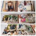 Ilyen vagyok! - egyedi, kézműves születésnapi scrapbook album, Naptár, képeslap, album, Fotóalbum, Jegyzetfüzet, napló, Ezt a scrapbook albumot a saját lányom 18. születésnapjára készítettem. Az album mind a 10 oldala in..., Meska