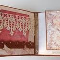 """"""" Te amo"""" - egyedi, kézműves vintage esküvői scrapbook album, Naptár, képeslap, album, Esküvő, Nászajándék, Ennek a gyönyörű vintage esküvői scrapbook albumnak már van tulajdonosa, de szívesen elkészítem Neke..., Meska"""