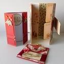 Egyedi, kézműves családi karácsonyi képeslap-csomag 2, Naptár, képeslap, album, Ajándékkísérő, Papírművészet, Ebben a csomagba 3 karácsonyi képeslapot tettem, melyek mindegyike kézzel készült. A családi képesl..., Meska