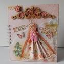 Egyedi, kézműves esküvői emlékkönyv, vendégkönyv, esküvői fotóalbum mixed media technikával készítve, Esküvő, Naptár, képeslap, album, Nászajándék, Jegyzetfüzet, napló, Lélegzetelállítóan szép, különleges esküvői emlékkönyvet készítettem, melyben megőrizheted életed eg..., Meska