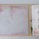 Szeretünk Téged! - egyedi, kézműves  születésnapi scrapbook album, Naptár, képeslap, album, Fotóalbum, Jegyzetfüzet, napló, Gyönyörű, teljes mértékben kézzel készült, személyre szabott születésnapi albumot készítettem, melyh..., Meska