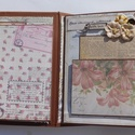 """""""Az én drága Édesanyám"""" - egyedi, kézműves születésnapi- és élettörténeti scrapbook album, vintage, virágos, fotóalbum, Naptár, képeslap, album, Fotóalbum, Egyik kedves vásárlóm kérésére gyönyörű scrapbook fotóalbumot készítettem, személyre szabott fotószá..., Meska"""