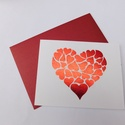 I love you Mom - Fóliázott képeslap Anyák napjára vagy születésnapra, foil card, , Otthon & Lakás, Papír írószer, Képeslap & Levélpapír, Papírművészet, Gyönyörű, egyedi, kézműves képeslapot készítettem Anyák napja alkalmából. A képeslap alapja 220 gra..., Meska
