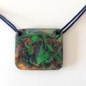 Őserdei tündér, Ékszer, Nyaklánc, Szintetikus kerámia  nyaklánc. 55 cm hosszú, Meska