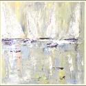 Vitorlás verseny, Képzőművészet, Festmény, Akril, 15x15 akril vászonra festve, Meska