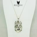 American staffordshire terrier 2 ezüst medál díszdobozban