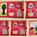 EGYEDI készségfejlesztő textilkönyv (10oldalas)  RENDELÉSRE, Játék, Készségfejlesztő játék, Társasjáték, Varrás, Patchwork, foltvarrás, Belső üzenetben minden részletet meg tudunk beszélni!  Az ár 5 db kétoldalas lapból álló textil kön..., Meska