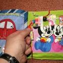 puha könyv     textil könyv    a babakönyv a baba első könyve , Játék, Készségfejlesztő játék, Társasjáték, Textilkönyv picik kezekbe tervezve,  Már tartalmaz gombokat, szalagokat, gyöngyöket... de nem ne..., Meska