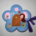 Hüvelyk Rozi virág házikója, Játék, Baba, babaház, Hüvelyk Rozi filc Virág házikója:  Katica, méhecske, madárka, csiga és virágok között ját..., Meska
