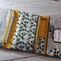 Maxi pelenkatartó táska, Baba-mama-gyerek, Baba-mama kellék, Varrás, Ebben, a sima pelenkázó táskához képest plusz egy zsebbel megnövelt pelustartóban most igazán elfér..., Meska