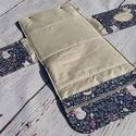 Kompakt pelenkatartó pelenkázóalátéttel, Baba-mama-gyerek, Baba-mama kellék, Varrás, Ez a pelenkázó táska megkönnyíti az utazás alatti pelenkacserét. A sok helyen megtalálható, műanyag..., Meska