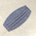 Szürke redőzött Textil mosható szájmaszk, arc maszk ( felnőtt ), Maszk, Arcmaszk, Varrás, 100% pamutvászonból készült két rétegű textil felnőtt méretű száj- maszk. 10 DB VAGY AZ FÖLÖTTI DB ..., Meska