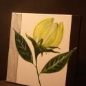 Absztrakt virág, Képzőművészet, Dekoráció, Festmény, Akril, Vakkeretre feszített vászonra készült festmény. Keret nélkül. Méret: 30×30cm. Technika: akrilfesték...., Meska