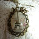 Paris  vintage nyaklánc Akció!!, Ékszer, Nyaklánc, Vintage stílusú technikával készült  antikolt bronz nyaklánc madárkákkal :  Páris ,   Roman..., Meska