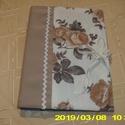 Textil borító, Anyák napja,  Irat tartónak  recepteknek  de bármi másnak is felhasználható.17x23 cm megköthető Kevés díszítéssel..., Meska