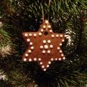 Mézeskalács karácsonyfadísz, Dekoráció, Ünnepi dekoráció, Karácsonyi, adventi apróságok, Karácsonyfadísz, Mézeskalácssütés, Finom illatú ( kb. 6 cm-es) mézeskalács díszek.  Az ár egy-egy darabra vonatkozik,belső üzenetben  ..., Meska
