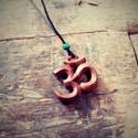 """Om (Aum) medál, Szerelmeseknek, Ékszer, Medál, Ékszerkészítés, """"Az Aum vagy másképp Om (szanszkrit: ॐ). Pranavának nevezik, és a legfontosabb hindu szimbólum – a ..., Meska"""