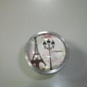 Párizs  fogantyú! , Otthon, lakberendezés, Dekoráció, Bútor, Fogantyú, Gyurma, Üvegművészet, Egyedi készítésű design fogantyú!   Alapja egyedi tervezésű alumínium, amiben egy Párizs-os kép van..., Meska