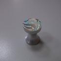 Akril fogantyú! , Otthon, lakberendezés, Dekoráció, Bútor, Fogantyú, Gyurma, Üvegművészet, Egyedi tervezésű akril design fogantyú.  Alapja egyedi tervezésű alumínium, amire akril kristályt r..., Meska