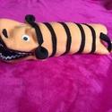 Kesztyűbáb, Játék, Báb, Polár anyagból készült kesztyűbáb tigris. Saját készítésű. Postázás megoldható. , Meska