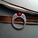 vörösen izzó gyűrű, Ékszer, Esküvő, Gyűrű, Esküvői ékszer, Talán Nils ,csodálatos utazása közben is  hasonlóan láthatta a napfelkeltét keresztül Svédországon. ..., Meska
