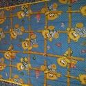 Steppel macis gyerektakaró, Játék & Gyerek, 3 éves kor alattiaknak, Alvóka & Rongyi, Varrás, 150 x 95 cm. Pamutvászon takaró . Három réteg steppelve van , közbélés 90 gr vatelin .Az anyag be v..., Meska