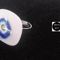 Millefiori üveg gyűrű (Woodstock), Ékszer, óra, Gyűrű, Egyedi, divatos, üvegből készült gyűrű. A gyűrű nagysága állítható, így minden kézre m..., Meska