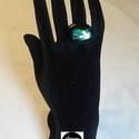 Dichroic üveg gyűrű (Amazónia), Ékszer, Gyűrű, Egyedi, divatos, üvegből készült gyűrű. A gyűrű nagysága állítható, így minden kézre m..., Meska