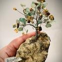 Szerencsefa kristályfa életfa AVENTURIN JÁSPIS 80-100 kristályból!, A szerencsefa vagy más néven életfa harmonizál...