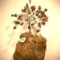 Szerencsefa kristályfa életfa RODONIT 60-80 db kristályból!, A szerencsefa vagy más néven életfa harmonizál...