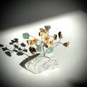 Szerencsefa kristályfa életfa HEGYIKRISTÁLY AVENTURIN JÁSPIS virágokkal!, A szerencsefa vagy más néven életfa harmonizál...