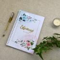 Esküvőtervező napló, Esküvő, Emlék & Ajándék, Fotó, grafika, rajz, illusztráció, Szeretettel ajánlom minden kedves menyaszonnynak ezt a praktikus esküvőtervező naplót, avagy másnév..., Meska