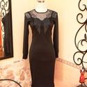 Masni aplikációs kis fekete ruha , Ruha, divat, cipő, Női ruha, Ruha, Vigyél színt a szürke hétköznapokba...  A kis fekete ruha, az örök klasszikus, minden nő szekrényéne..., Meska
