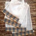 Burberry kockás öko tasak szett 4 darabos XL, NoWaste, Otthon & lakás, Bevásárló zsákok, zacskók , Konyhafelszerelés, Lakberendezés, Elég volt a papírszalvétákból, nejlonzacskókból, fóliába csomagolt uzsonnákból, eldobható műanyag cs..., Meska