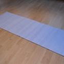 Sima pamutszőnyeg, Otthon, lakberendezés, Lakástextil, Szőnyeg, 100% pamut alapanyagú, vastag szőnyeg. Mosógépben mosható.  Világoslila színű pamutból kés..., Meska